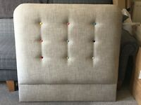 Single Deep Buttoned Headboard
