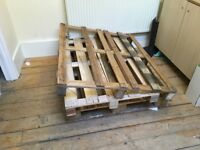 Free pallets to collect from Muswell Hill.