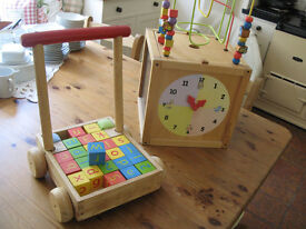 Wooden Toys - good condition