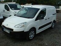 PARTNER 2013 1.6HDI ONE OWNER FSH DRIVES SUPERB £4495 N0-VAT