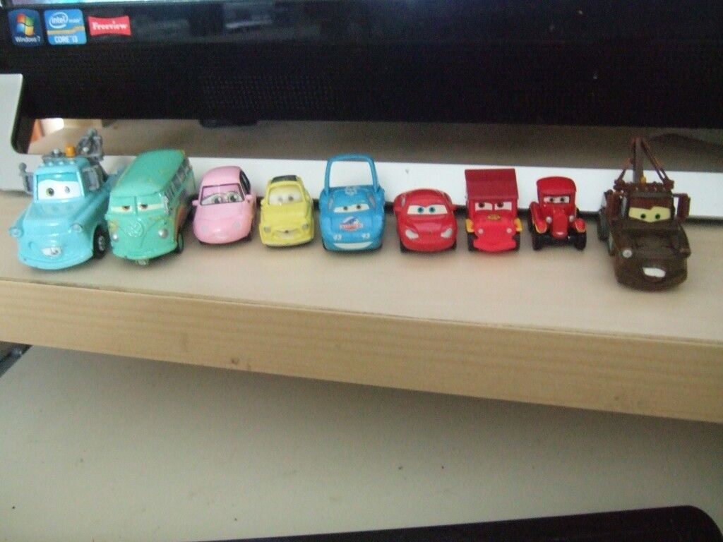 A collection of movie cars...