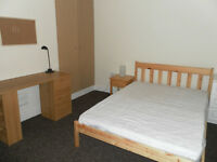 ONE DOUBLE BEDROOM AVAILABLE NOW in 4 bedroom student house. £75 per week - NO DSS!