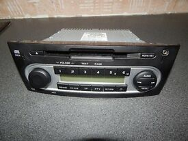 Mitsubishi Colt CD Player Head Unit / Shogan / Outland / Lancer - Perfect Working Order