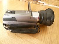 cannon legria hd digital camcorder with semi fisheye lens