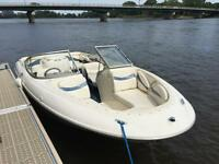 Bayliner 21 foot open deck