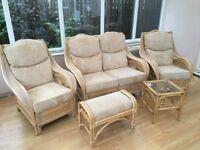 Wicker furniture 5 piece set