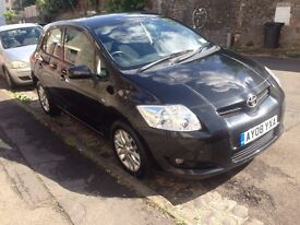 Toyota Auris 2008 Petrol - Full service history, MOT to April 2018