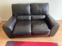 Leather Sofa, Hardly Used