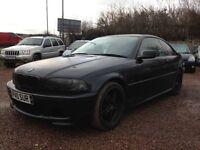 2003 BMW 3 SERIES MSPORT COUPE 148K, 1 YEAR MOT £995