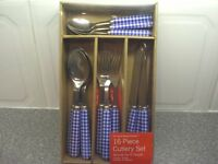 16 Piece Cutlery Set - The Casual Dining Collection (Brand new and in a box)