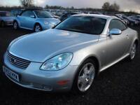 LEXUS SC 4.3 430 2d AUTO 279 BHP (silver) 2002
