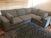 Next Sonoma III Module Corner Sofa Grey
