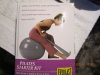 NEW EXERCISE BALL AND DVD EVERLAST