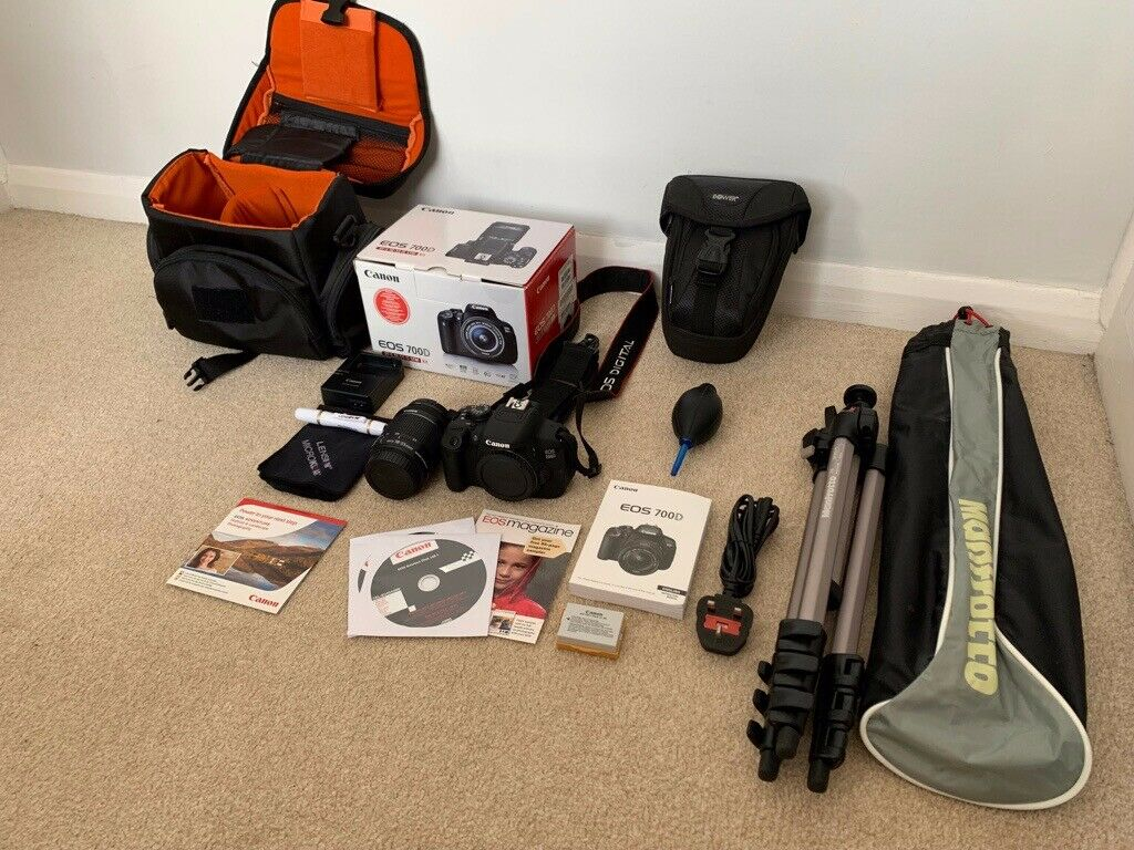 Canon 700D Camera Boxed with Canon 18-55mm Zoom & Extra's in Mint Condition  | in Newport | Gumtree