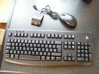 Keyboard and Mouse Logitech