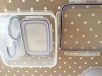 FOOD STORAGE TUBS