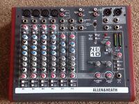 Allen And Heath Zed 10 Mixing Desk.