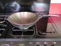 Professional Stainless Steel Wok