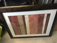 Picture frame striped