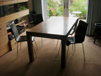Retro Leather Dining Chairs