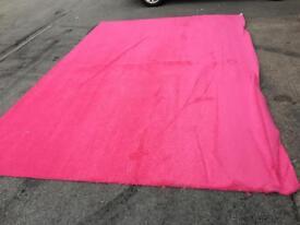 New hot Pink luxury carpet 9ft x 13ft