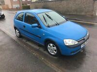 Vauxhall Corsa, 1.2 Petrol, long MOT, nice and tidy.