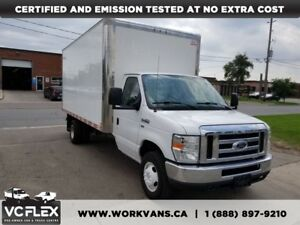 2014 Ford E-450 E450 16Ft Aluminum Box 5.4L V8 Gas