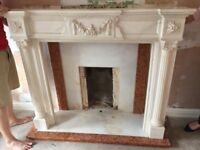 **Reduced** Fire surround