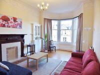 2 bedroom fully furnished 3rd floor flat to rent on Warrender Park Road, Edinburgh