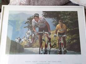 Limited edition cycling prints