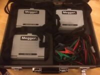 Complete set of Megger Test Equipment