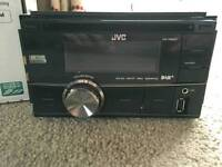 Jvc double din dab Kw-db60at