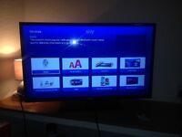 Bush 32 inch black screen television for sale