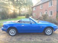 1990 Mk1 Mazda MX-5 1.6 Manual Petrol - 11 Service Stamps - Immaculate Condition - New MOT & Service