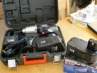 Sealey CP2400 24v cordless impact driver with extra battery