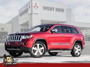2012 Jeep Grand Cherokee Overland-Accident Free-One Owner-3.6L V