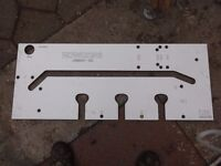 Howden joinery worktop / routing jig £25
