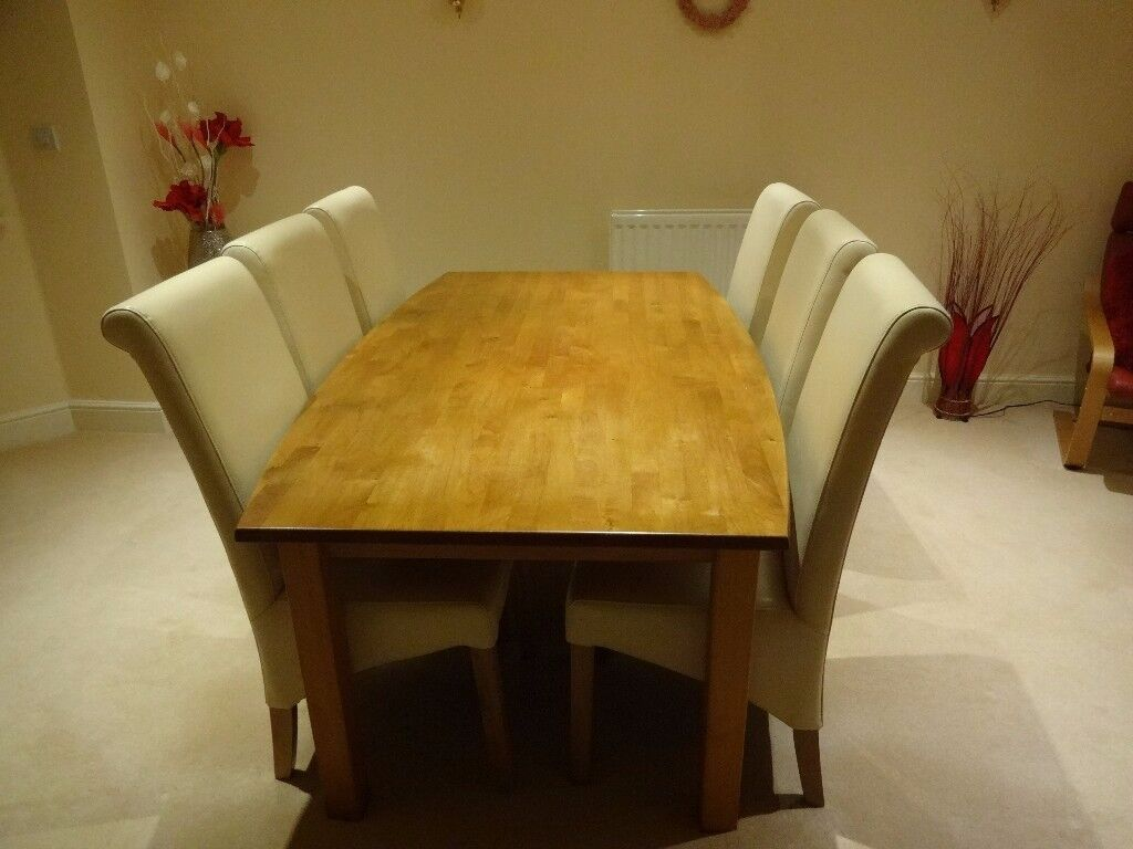 """Red Alder Dining Table 6' x 3'6"""" (ex John Lewis) Table only"""