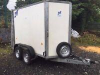 ifor williams 8x5 box trailer