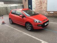 FIAT PUNTO 3 door 2011 red manual excellent runner