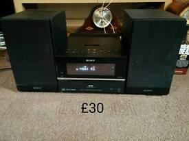 Sony DAB cd radio hifi