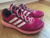 Adidas Duramo 7 running shoes size 6 (EUR 39) pink