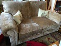 Laura Ashley woven velvet 2 seater sofa