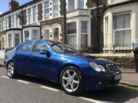 Mercedes c200 cdi auto sports edition loaded with extras not c220 c270 c320