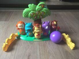 Vtech Little Jungle Bowling Set