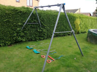 TP Swing frame - double with choice of three swings