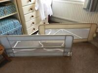 2 x child's bed guards