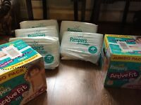 Pampers Nappy 4+ BNIB