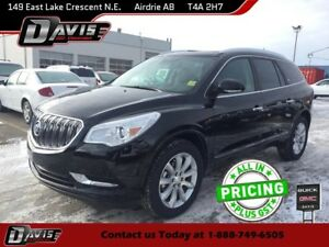 2017 Buick Enclave Premium AWD, NAVIGATION, HTD/CLD SEATS, BL...
