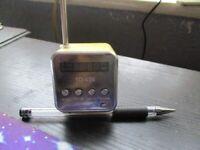 Miniature Radio With Mood Lighting